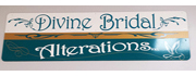 Divine Bridal Alterations logo with link to store detail page