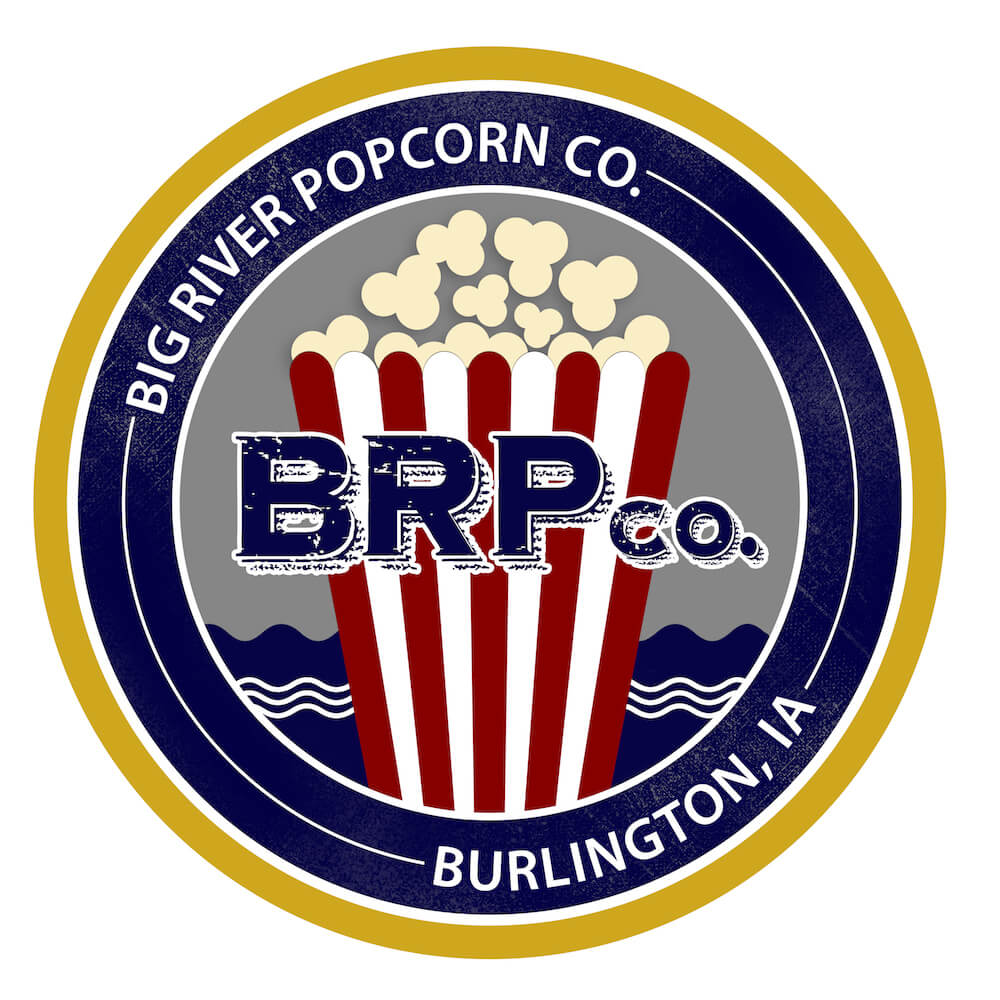 Big River Popcorn logo with link to store detail page