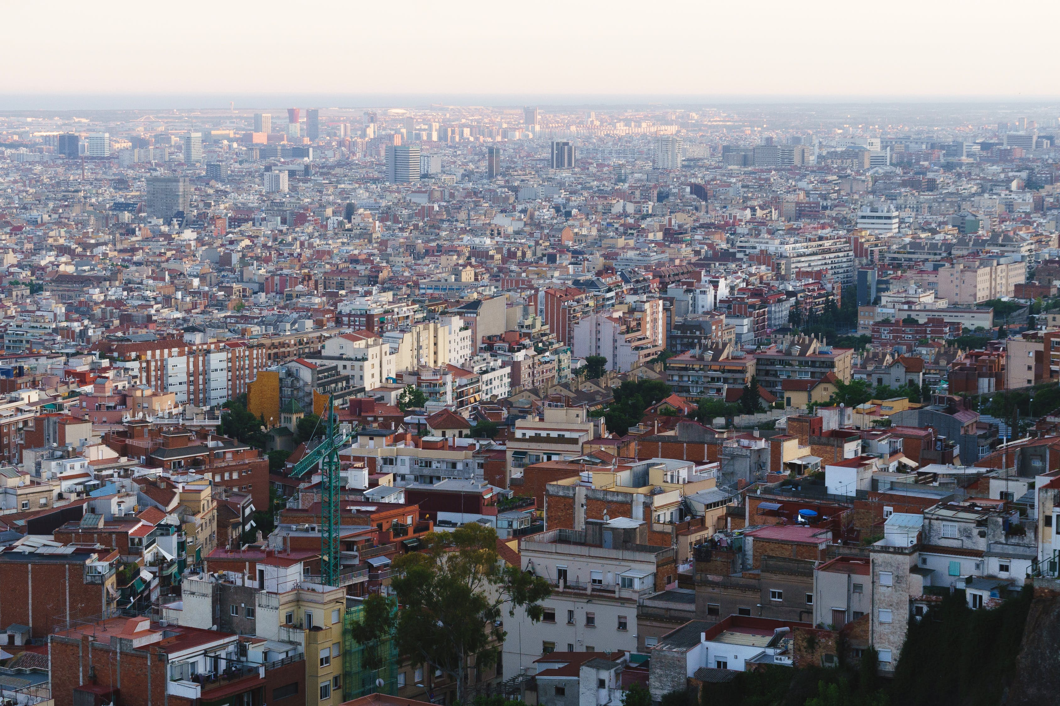 Free stock photo of barcelona, city, density