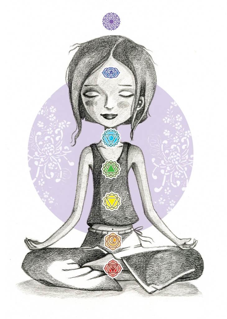 Le soin des chakras