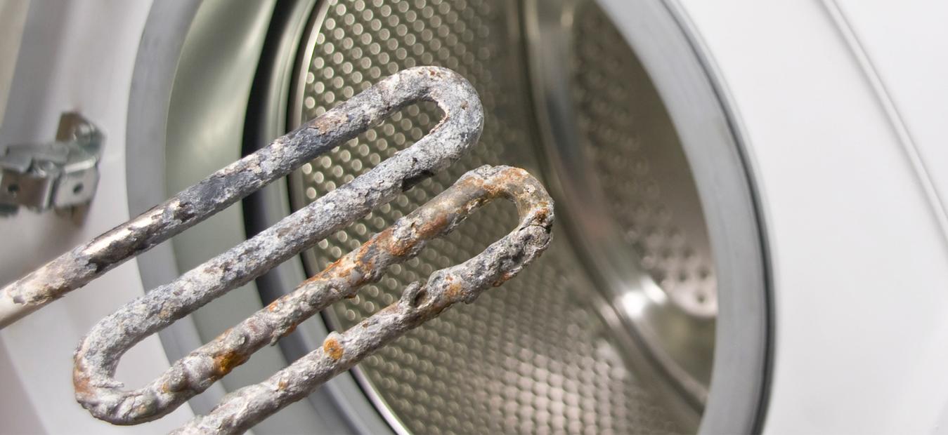 Wasmachine ontkalken