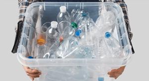Geen plastic flessen