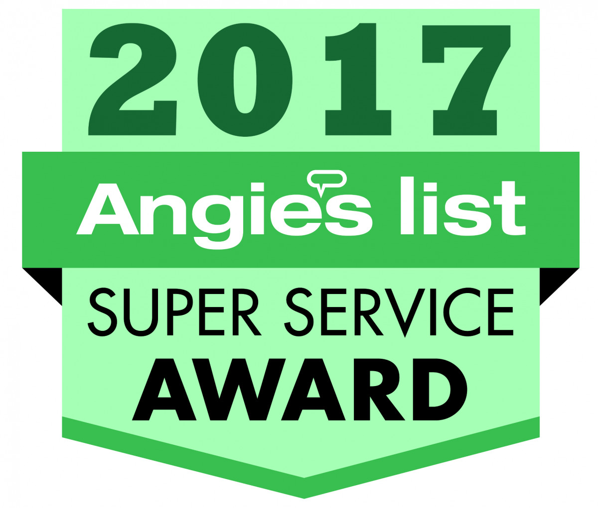 Sky Power Wash were awarded the 2017 Super Service Award from Angie's List