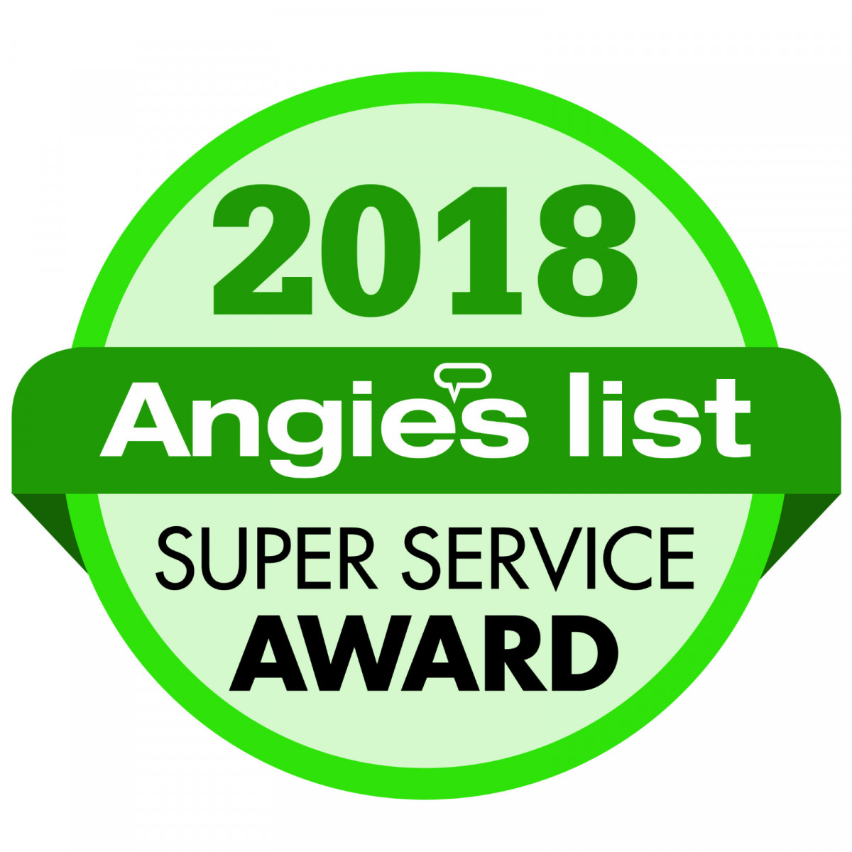 Sky Power Wash were awarded the 2018 Super Service Award from Angie's List