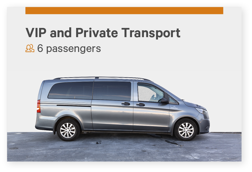 Private airport transfer Iceland for 6 passengers