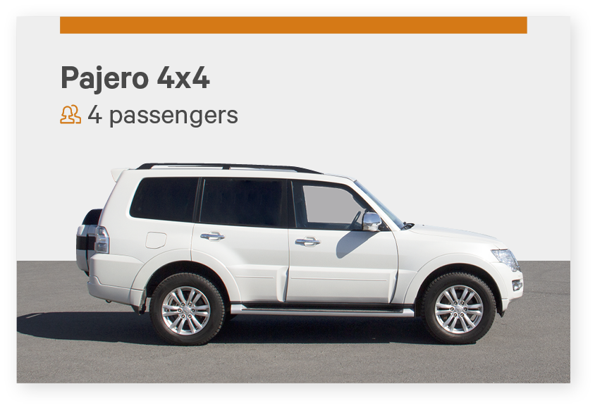 Private airport transfer Iceland for 4 passengers