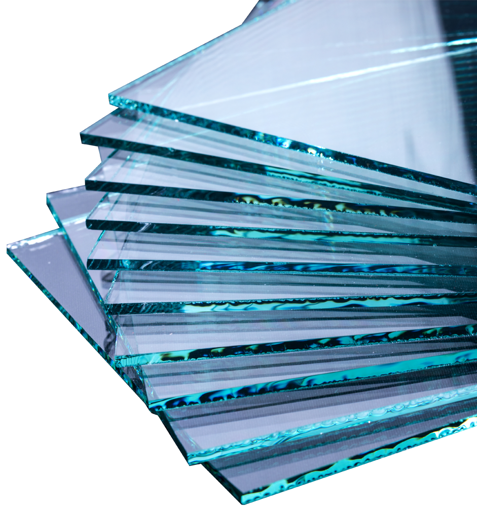 Curved glass shapes