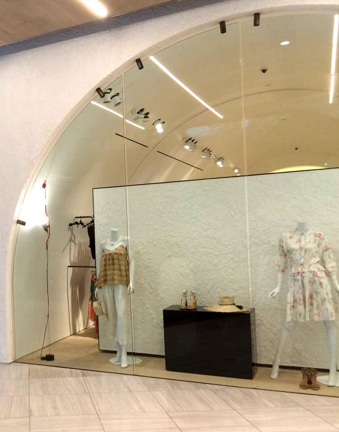 Zimmerman shopfront glass