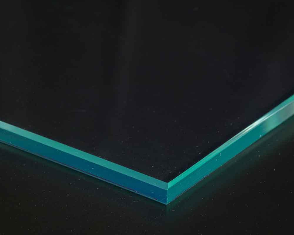 Flat polished edges