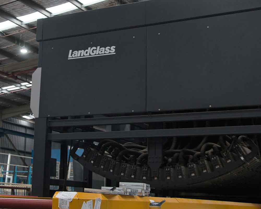 LandGlass bending furnace