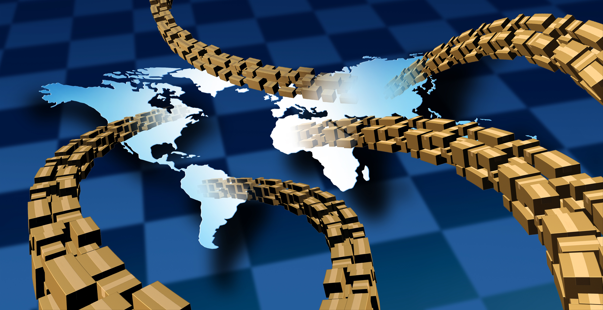 Supply chain management all over the world
