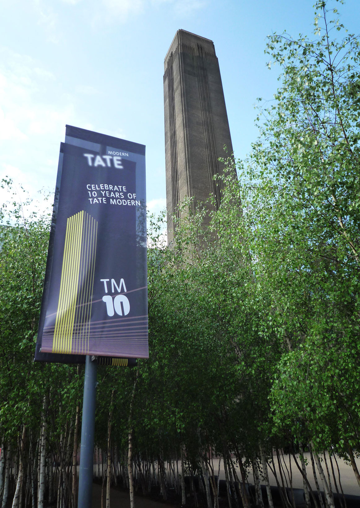 Tate Modern - TM10 Festival - identity and design