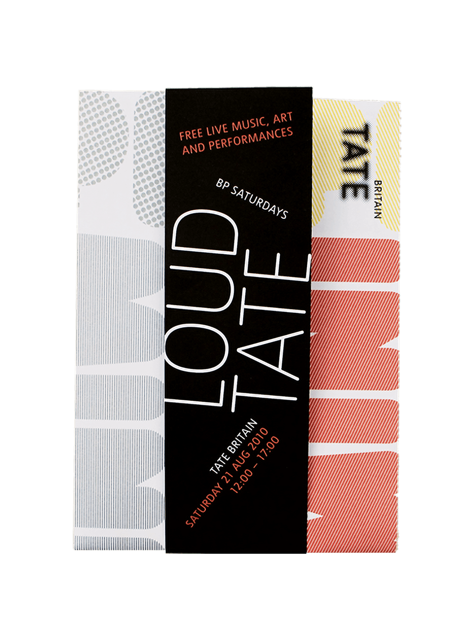 Tate - Loud Tate Festival - branding and design
