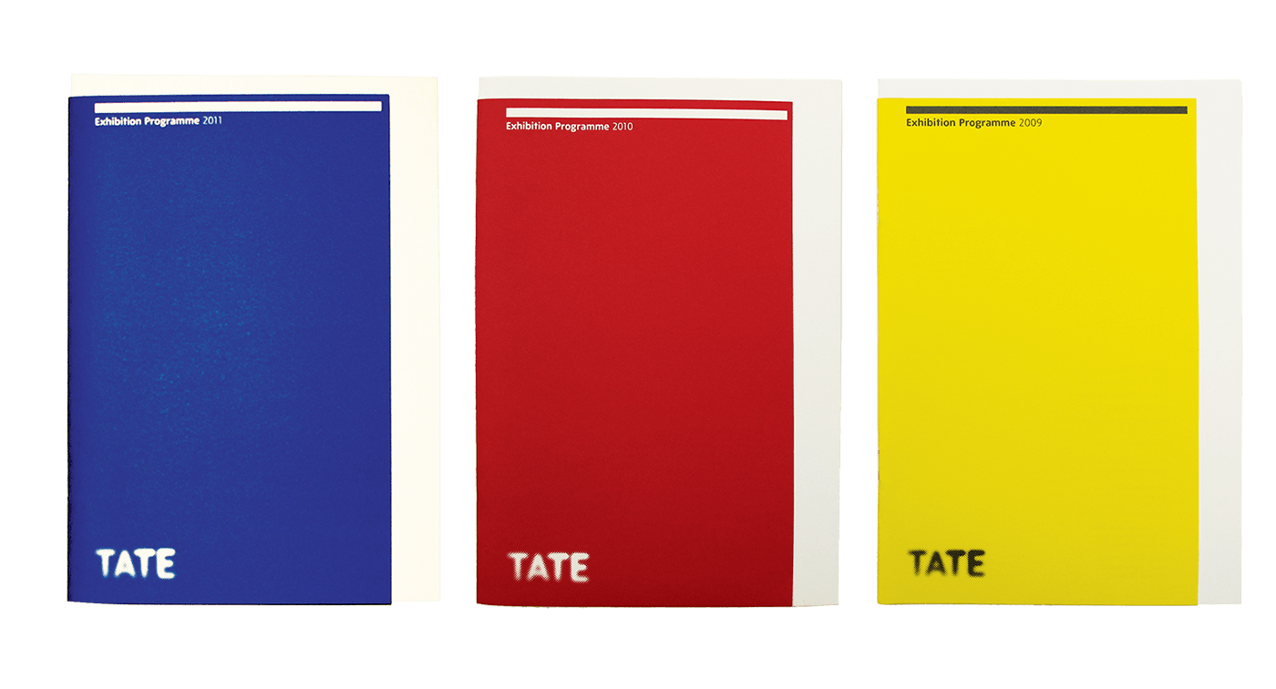 Tate - Programme Book - design