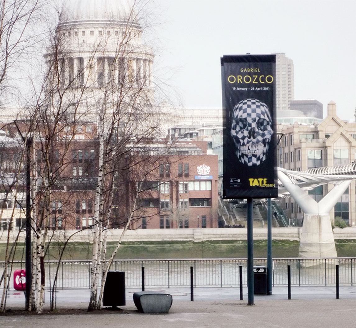 Tate Modern - Gabriel Orozco exhibition design