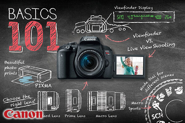 Canon Intro 101: Essential Functions of your EOS Camera