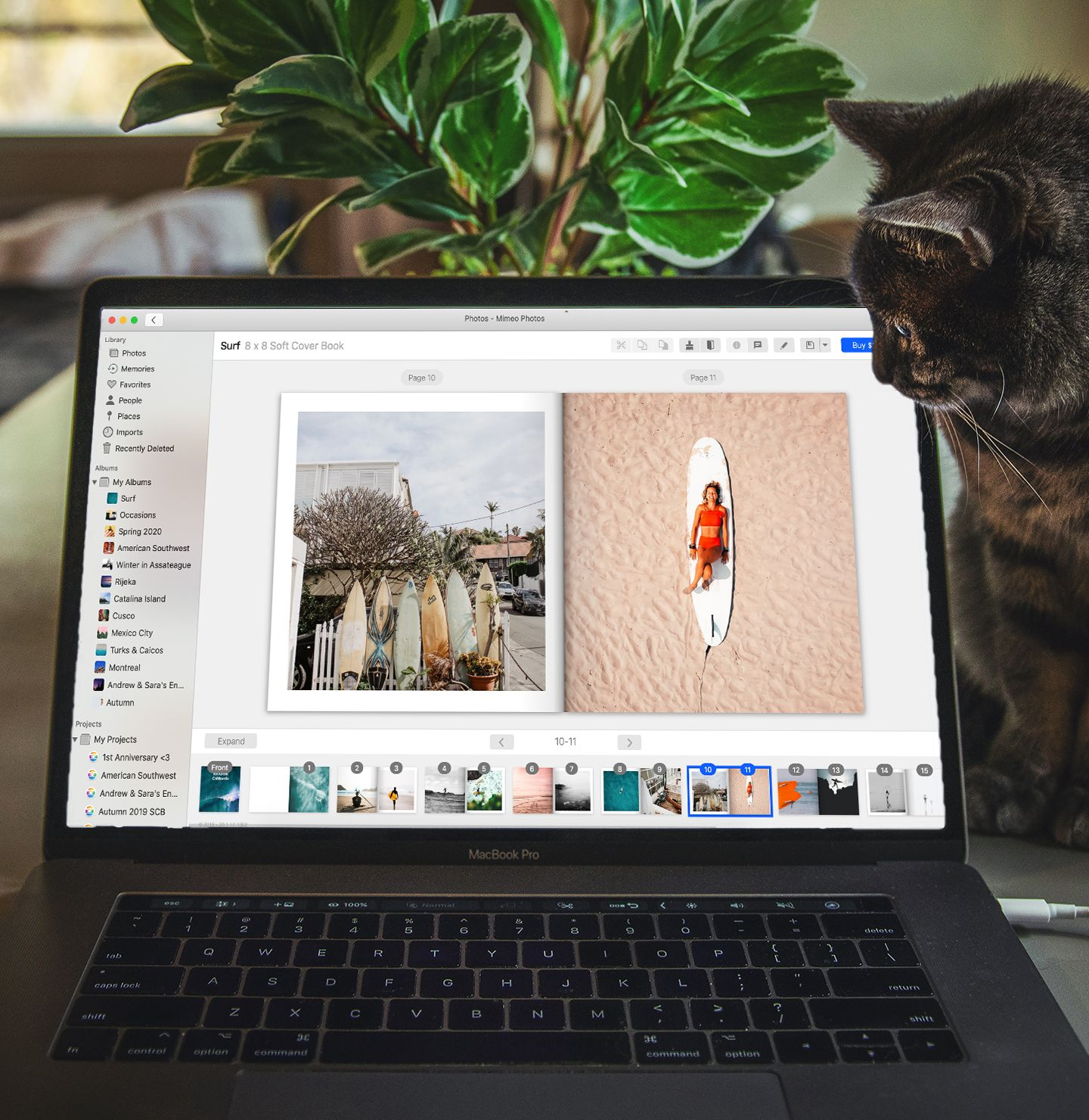 Create high quality photo projects using Mimeo Photos - a free Apple Photos project extension