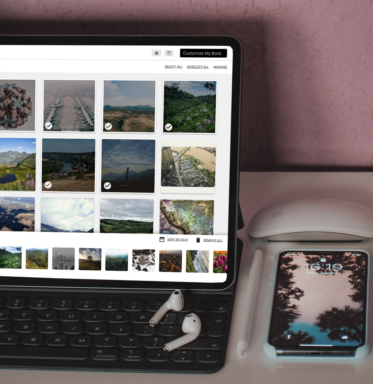Create a printed photo project from any browser on any device using our Mimeo Photos for Web platform