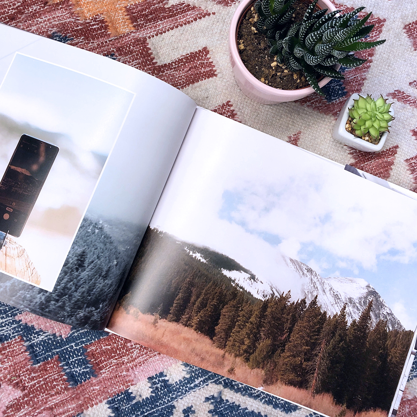 Print industry leading quality photo books using our web browser platform
