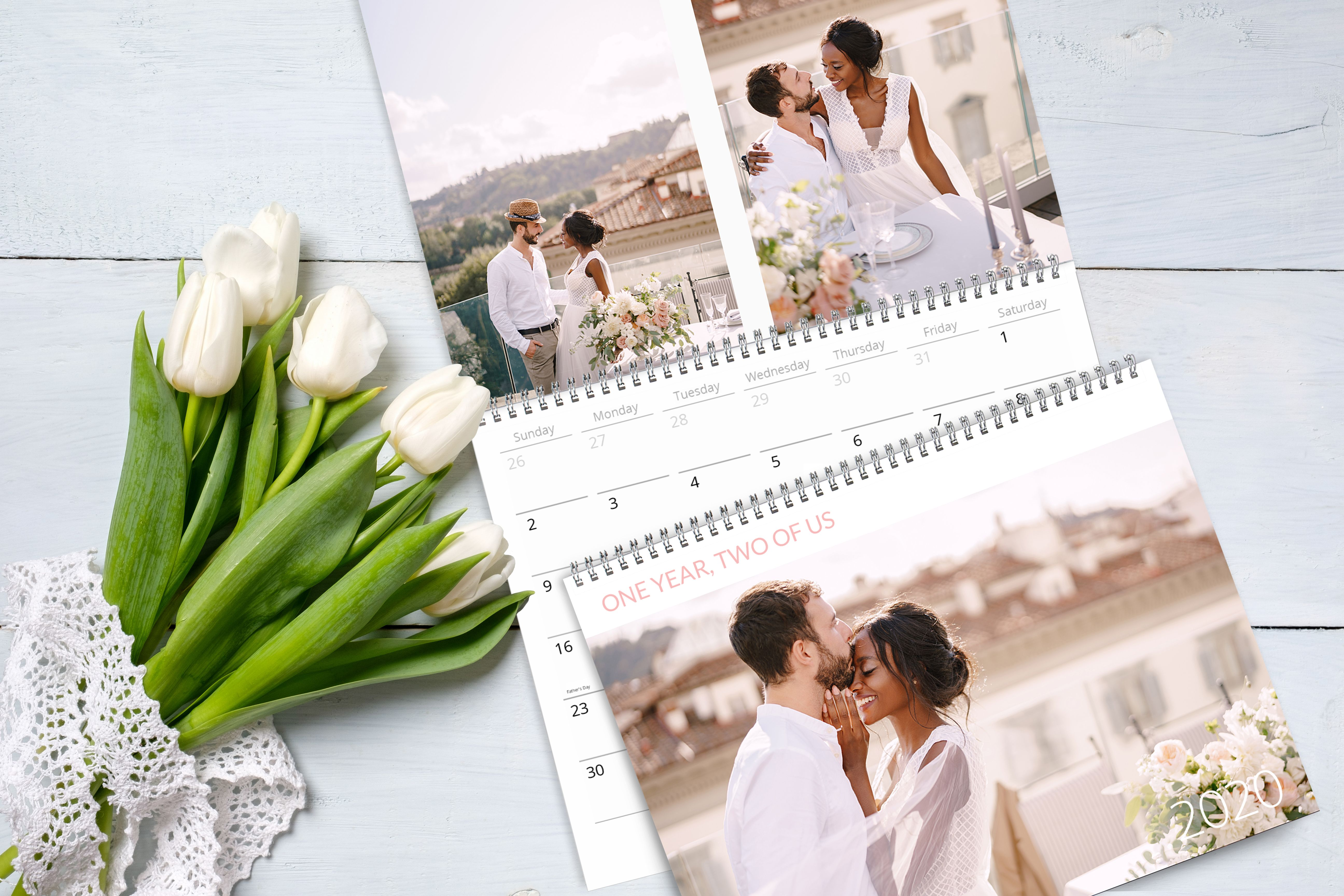 Celebrate the year of you with a photo calendar