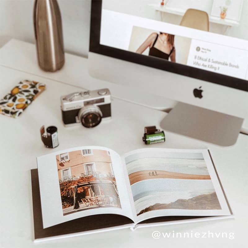 Personalize your own hard cover photo book in up to 100 pages