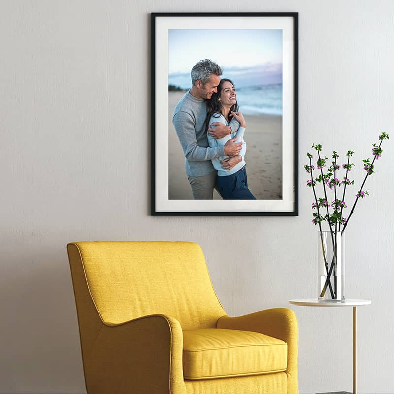 Turn your digital moments into beautiful displays with large format photo prints available for online ordering