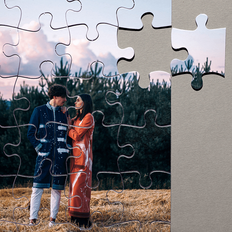 Make a custom photo puzzle or a puzzle for kids as this year's stocking stuffer present