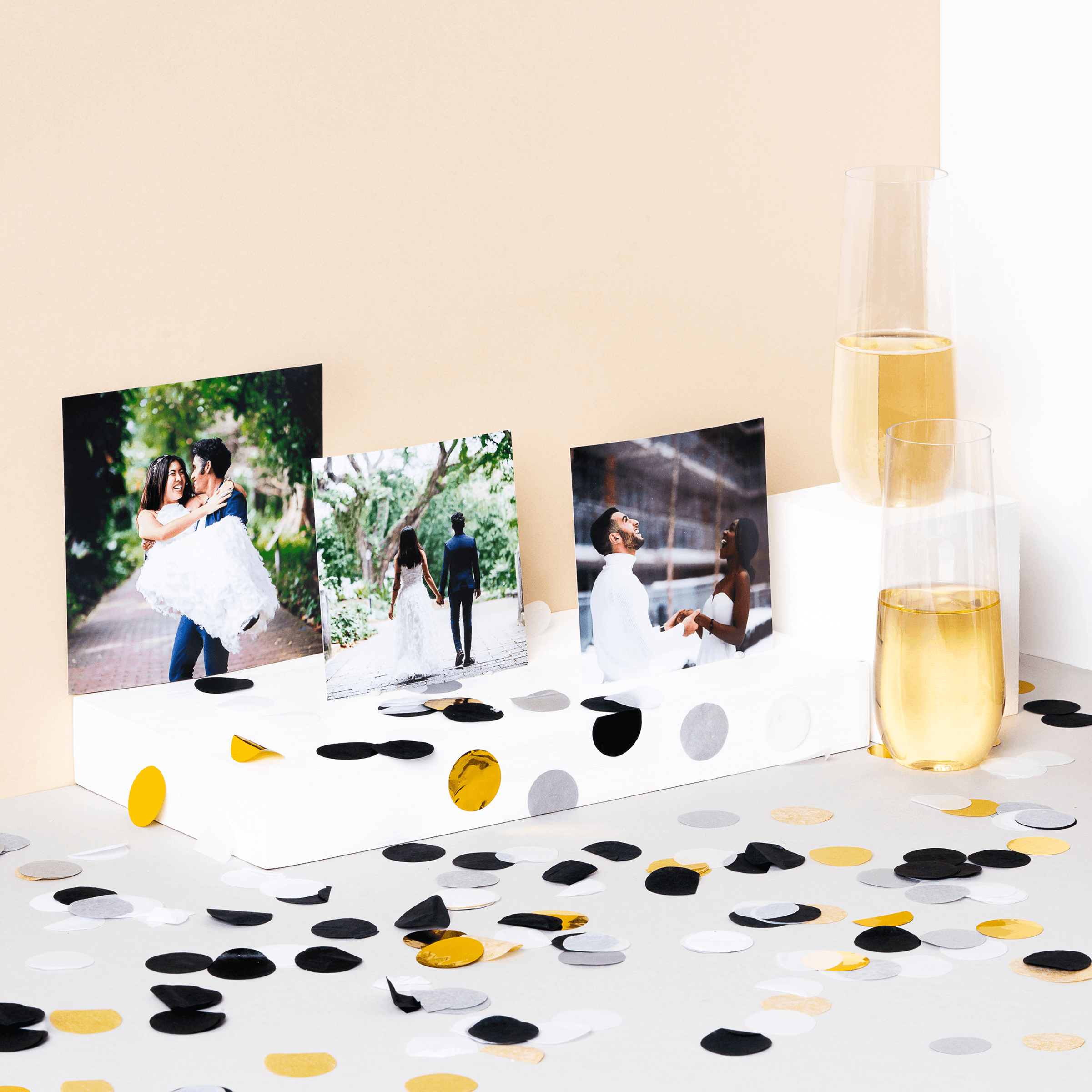 Shop wedding albums and photo prints a gift for newlyweds