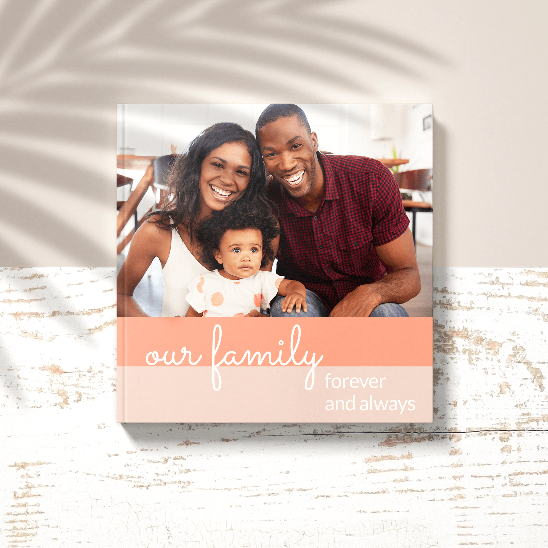 Create a new family photo album as a gift for your holiday exchange