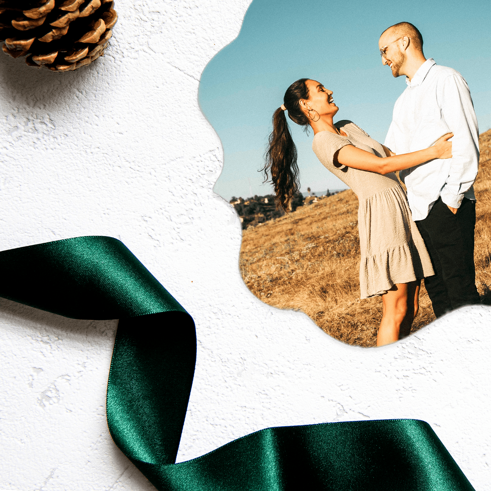 Order a custom photo ornament as a holiday gift
