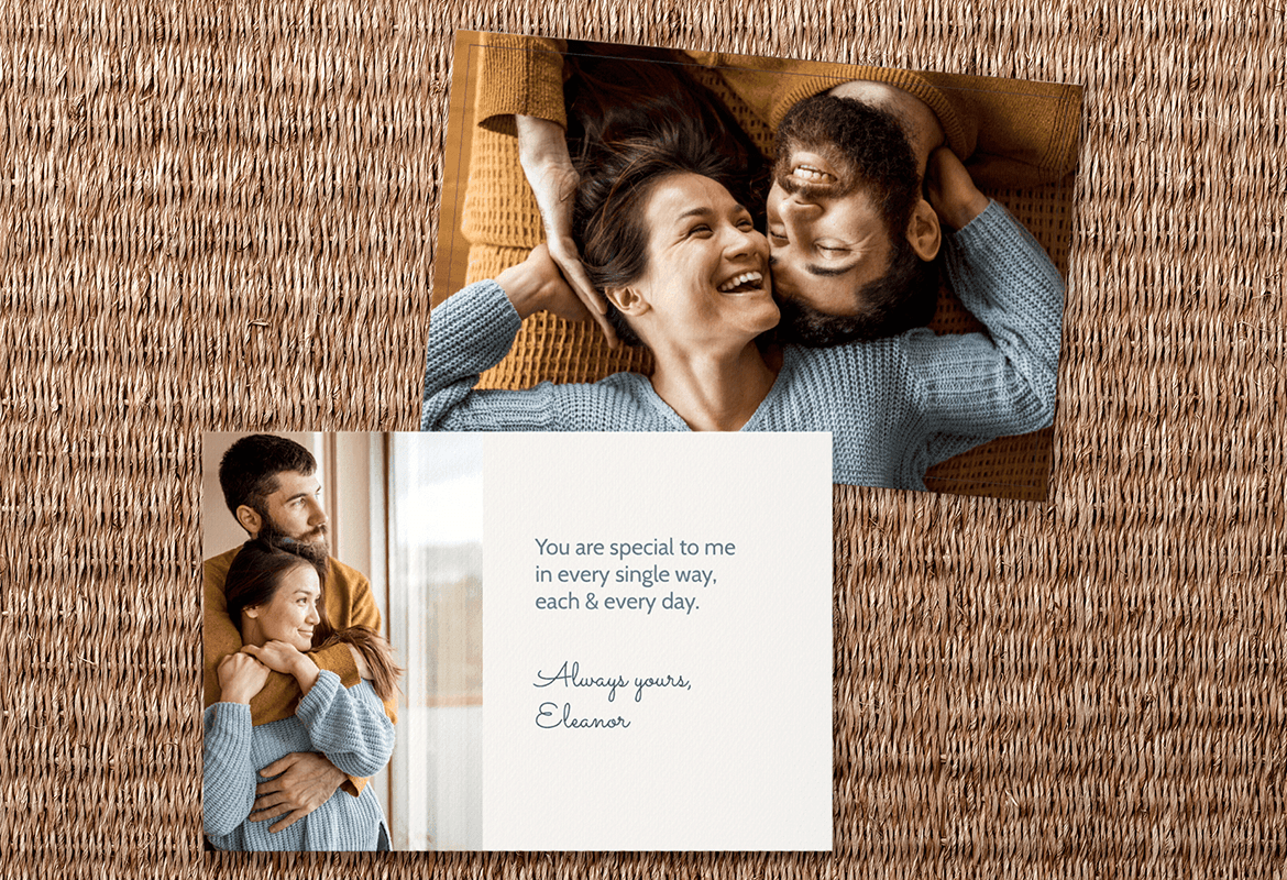 Personalize your Valentine with Mimeo Phtotos