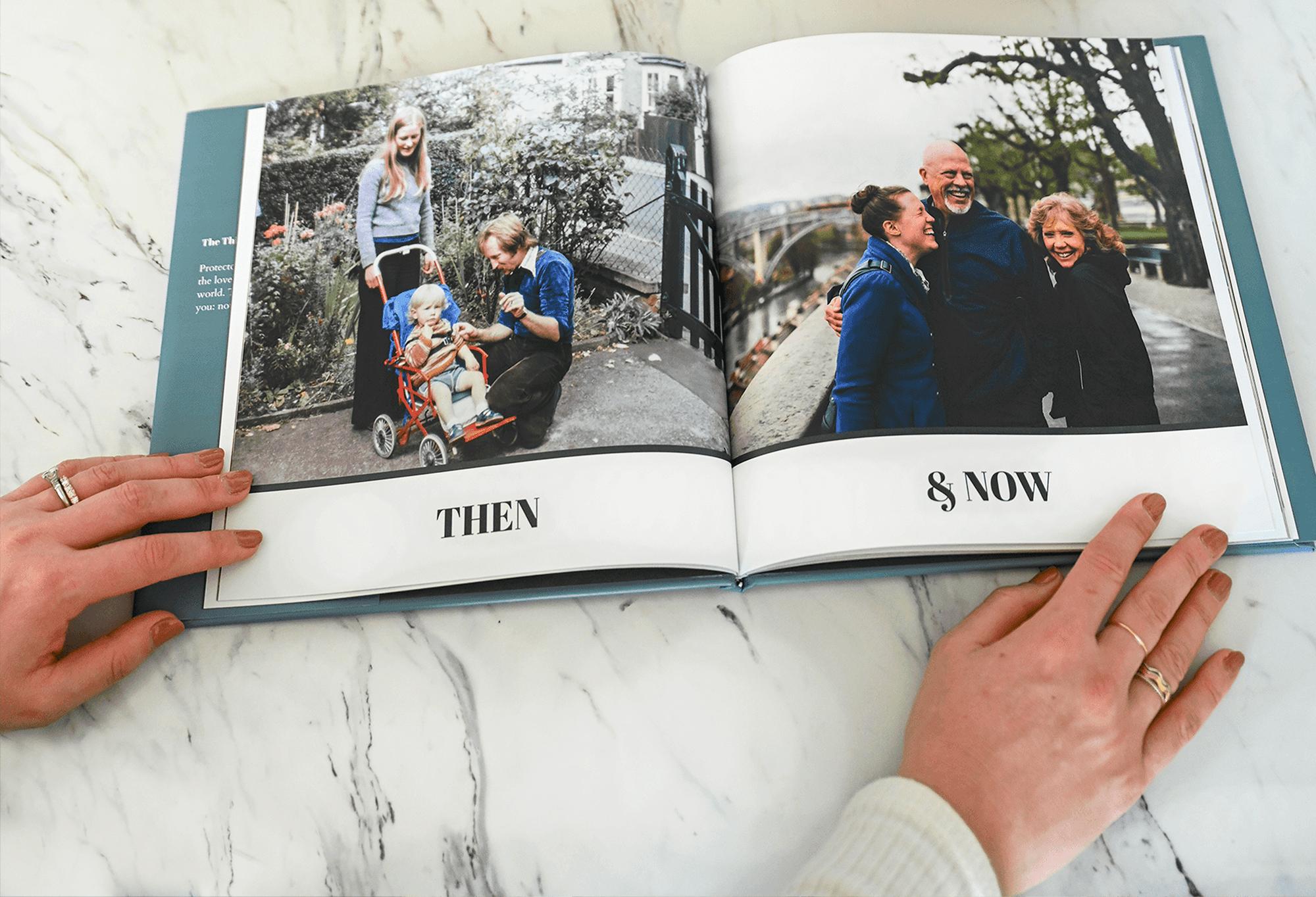 Celebrate big milestones with photo album gift