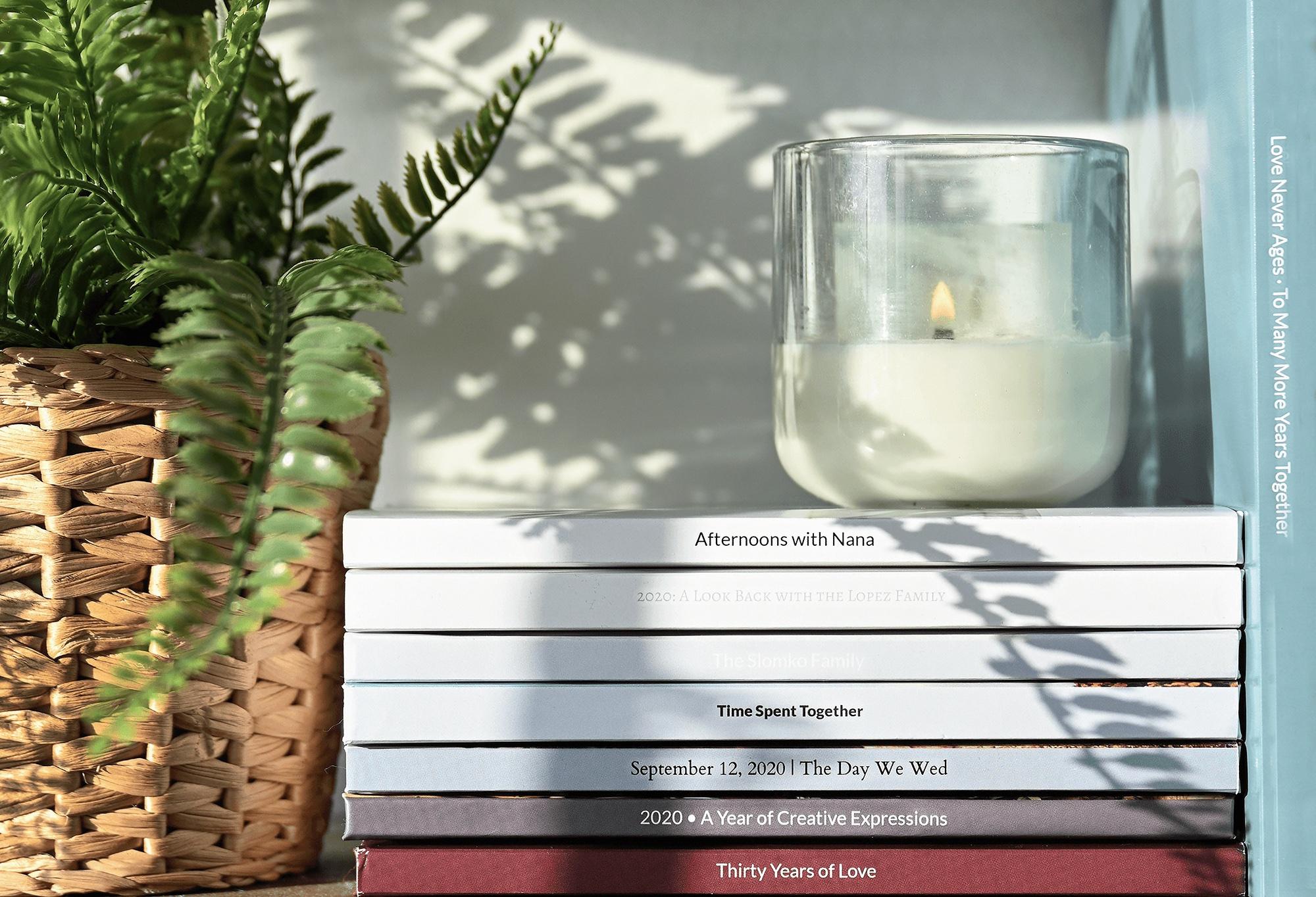 Make a romantic photobook keepsake for your partner