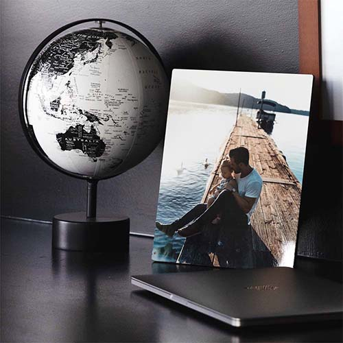 Shop tabletop and wall decor for your home with Mimeo Photos