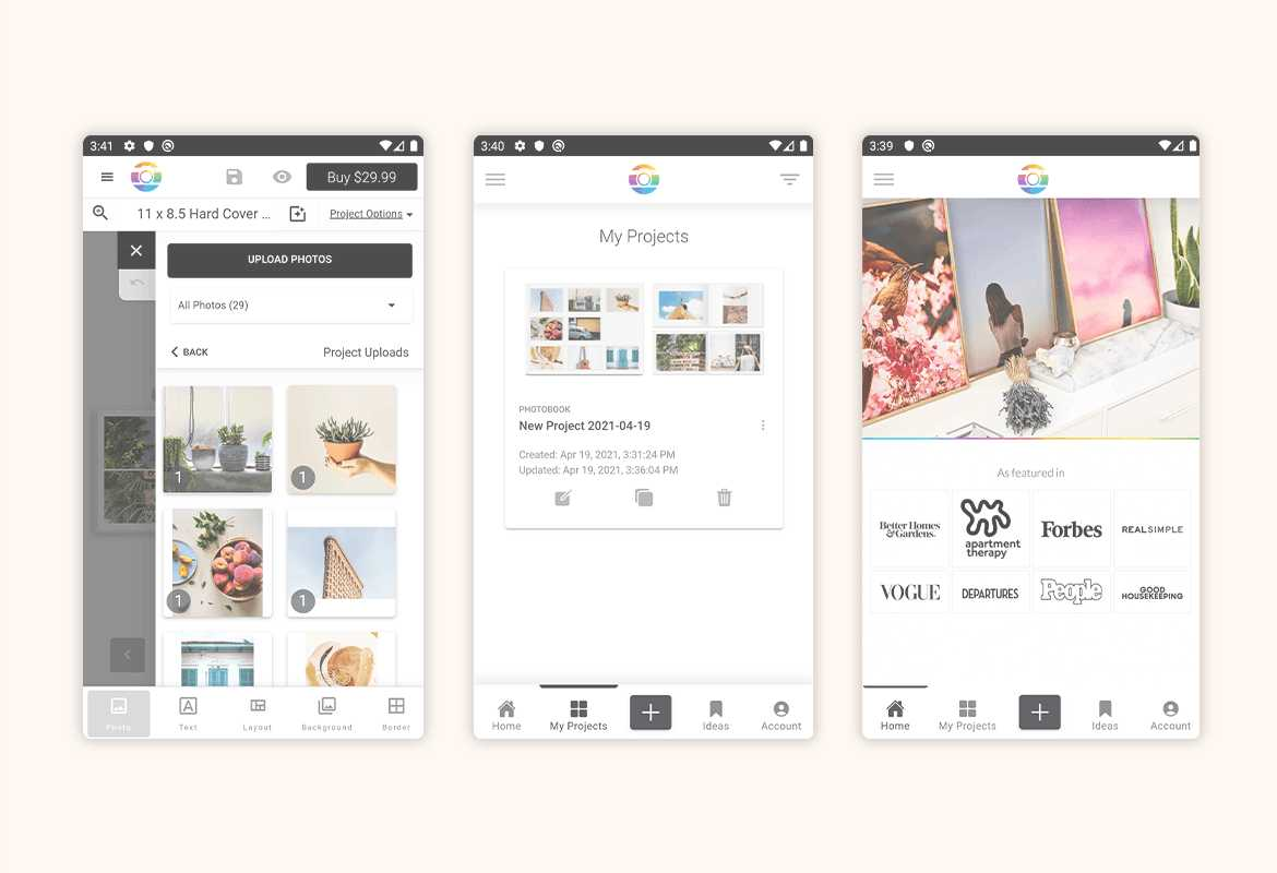 Mimeo Photos Launches App For Android phones and tablets in the Google Play Store