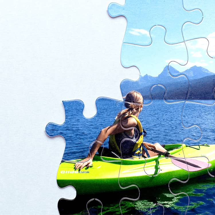 Shop custom photo puzzles and turn your favorite memories into family fun