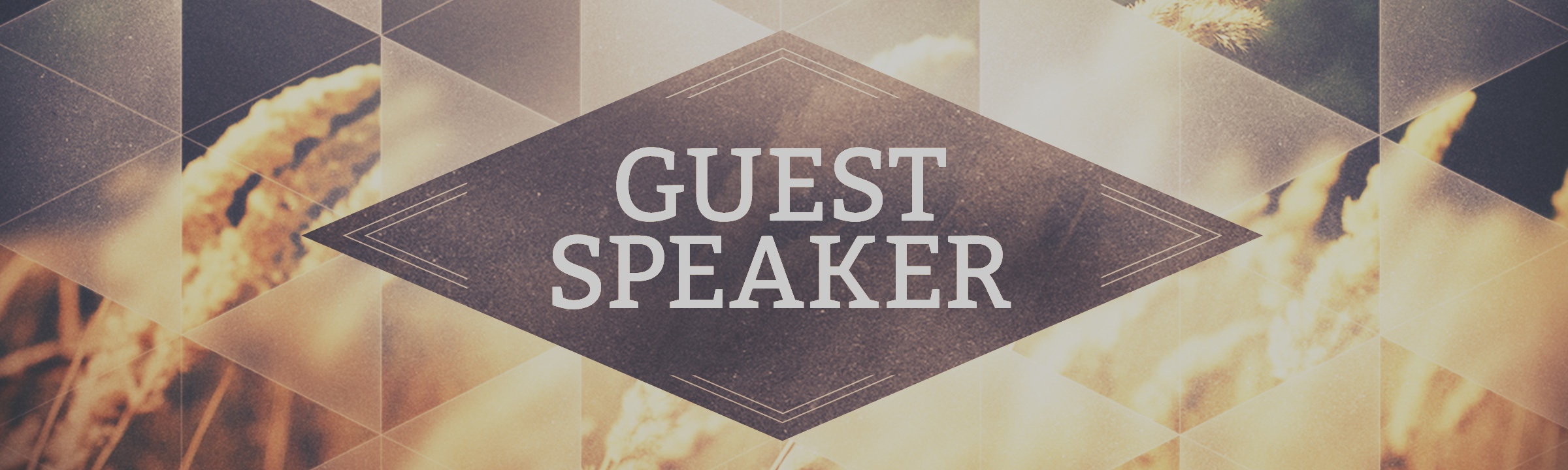 Guest Speaker (2019)