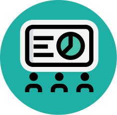 collaboration and recognition icon
