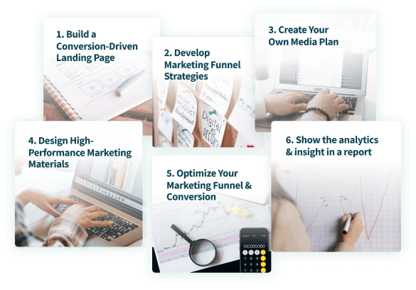 marketing bootcamp 6steps