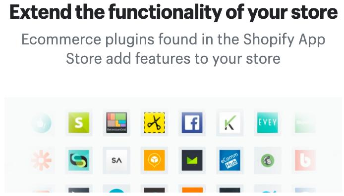 網店平台 Shopify 擴充功能