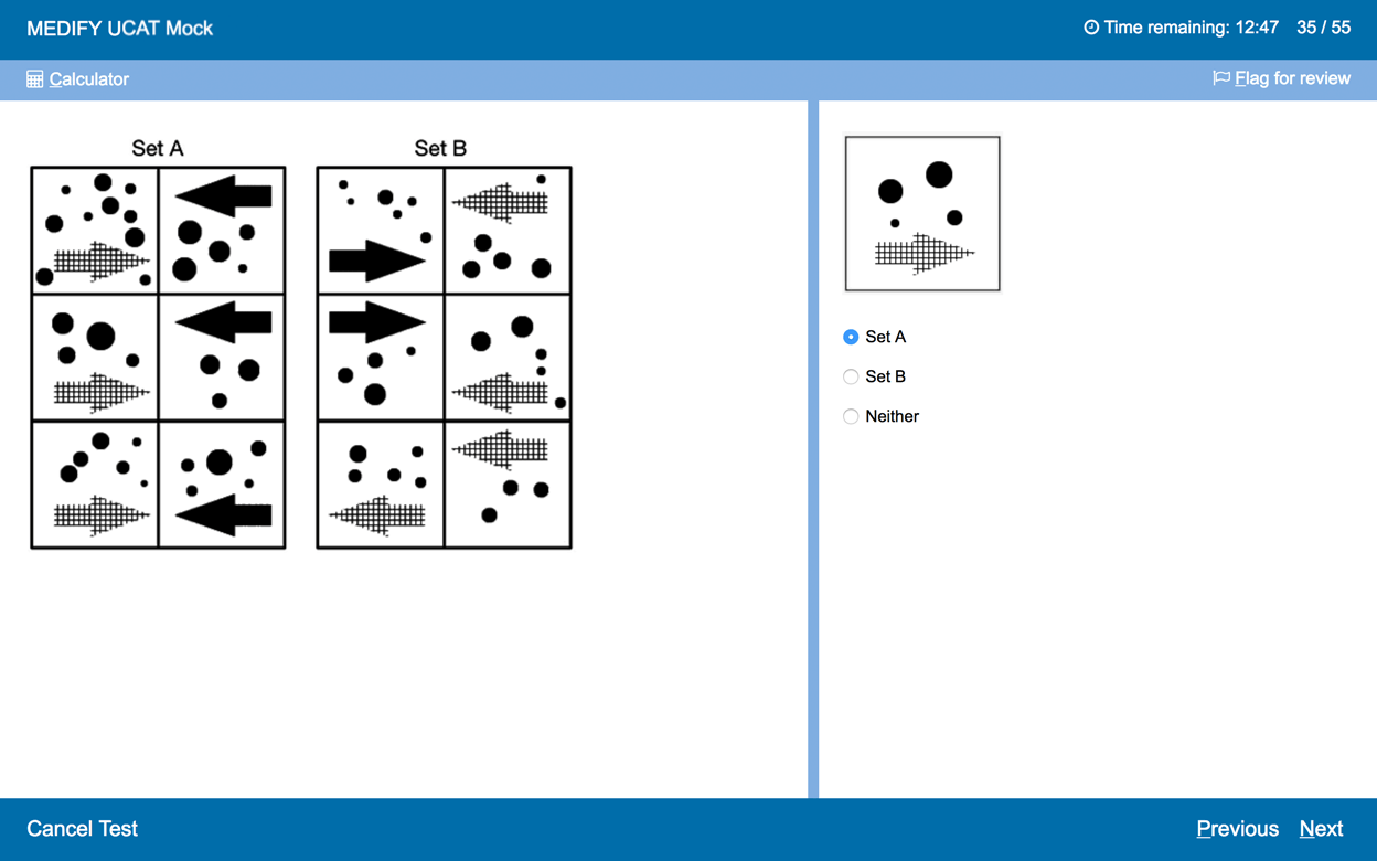 UCAT Mock - Abstract Reasoning