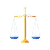 A scale balance