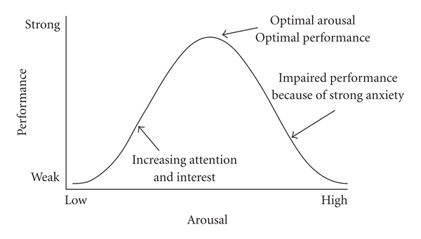 The relationship between stress and performance