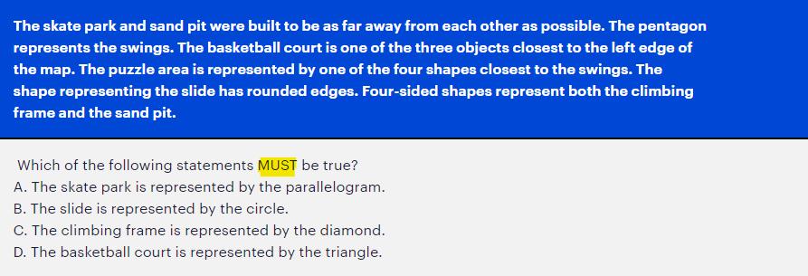 UCAT Decision Making (DM) Example Question