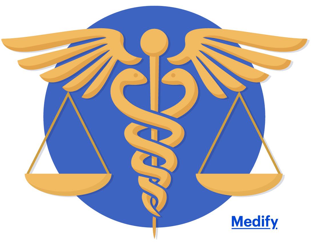 Caduceus as a symbol of medicine