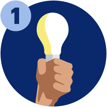 A hand holding a lightbulb: Concessions and access arrangements for the UCAT ANZ 2021 opened on Monday 1st February 2021