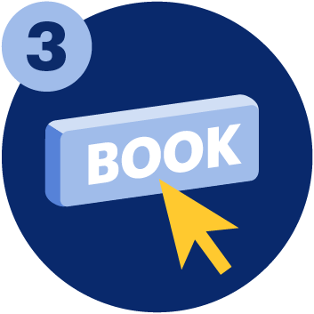 Clicking on the 'Book' button for the UCAT ANZ