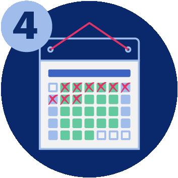 A calendar: UCAT ANZ important deadlines
