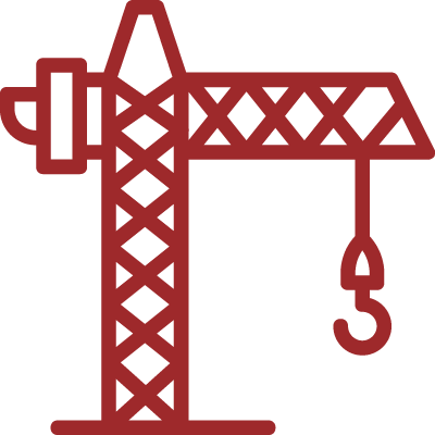 icon of a construction crane