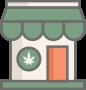 Cannabis clinic icon